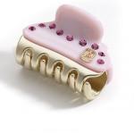 Alexandre de Paris crystal claw clip Vendome