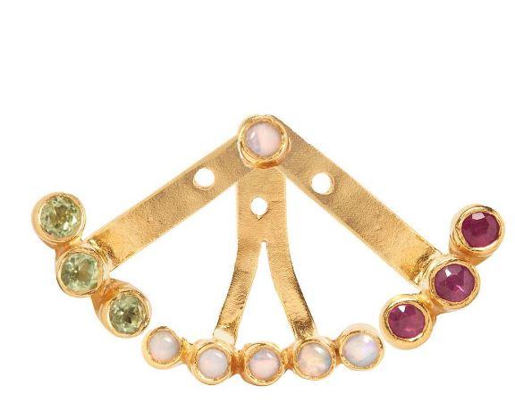 earring-garnet
