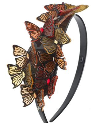 butterfly red headband timeless
