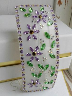 mcdavidian crystal hair clip