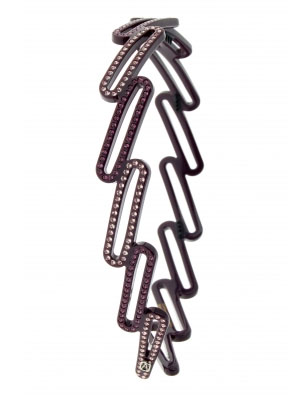Alexandre de Paris crystal headband Algorithme