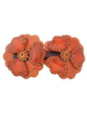 Flower hair clip Camelia MC Davidian Large hair clips
