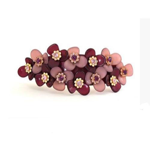 French-hair-barrettes-flower-crystal-ponytail-clip-Davidian