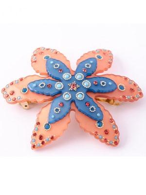 mcdavidian crystal hair clip starfish barrette