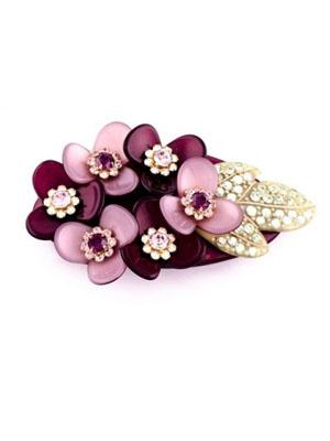 mcdavidian hair clip french barrette flower
