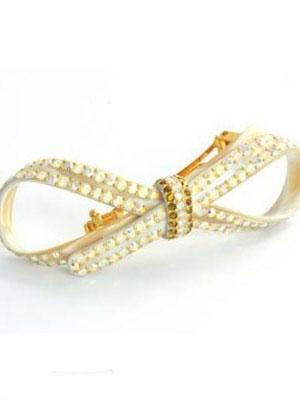Rhinestone hair clip MC Davidian crystal clip