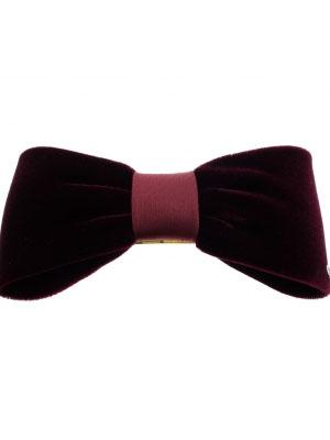 Alexandre de Paris hair clip Velvet