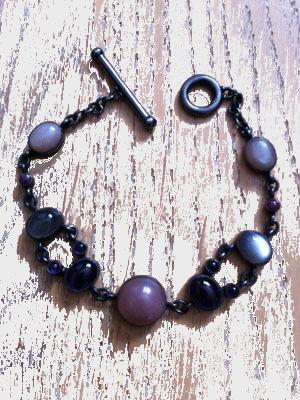 Moonstone bracelet silver 925