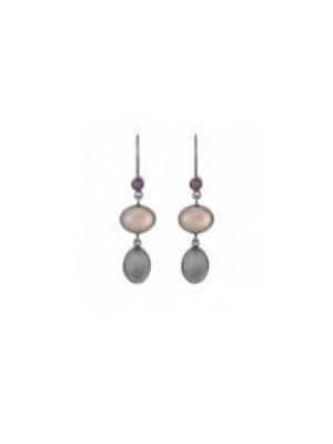 Moonstone silver 925 earrings