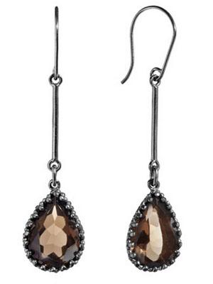 smoky-quartz-earrings-silver-925